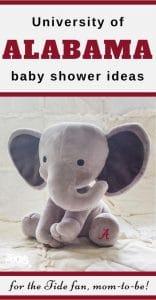 Alabama Baby Shower Ideas