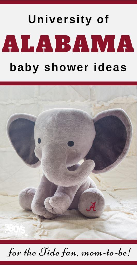 Alabama Baby Shower Ideas