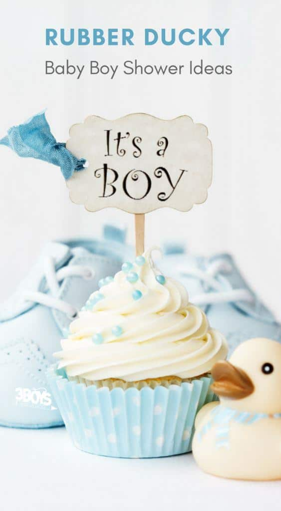 rubber ducky baby boy shower ideas