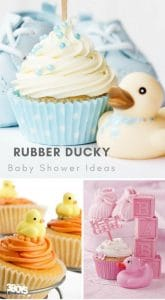 rubber ducky baby shower ideas for boys and girls and gender neutral