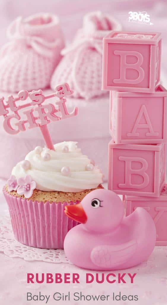rubber ducky baby shower ideas for girls