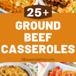 over 20 different hamburger meat casserole recipes