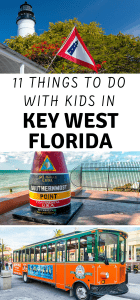 11 Things to do with kids in Key West FL
