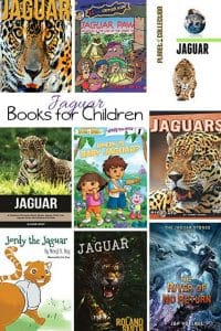 Kids Books about the Jaguar