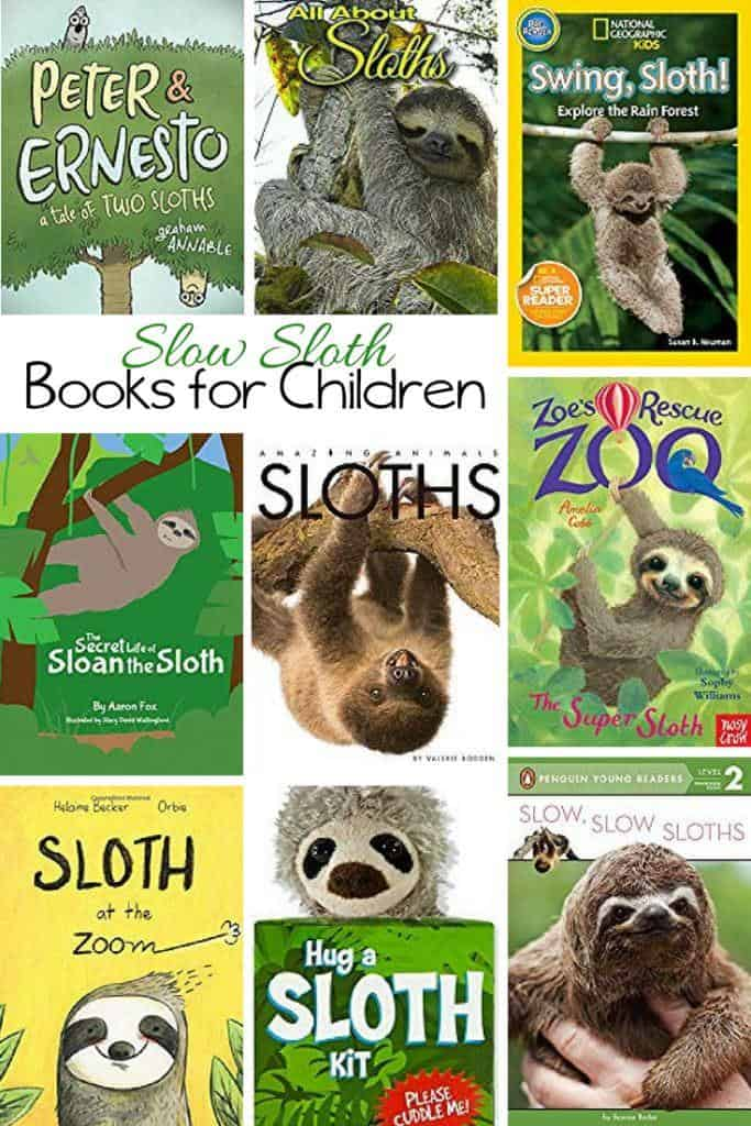 Sloth Books for Kids