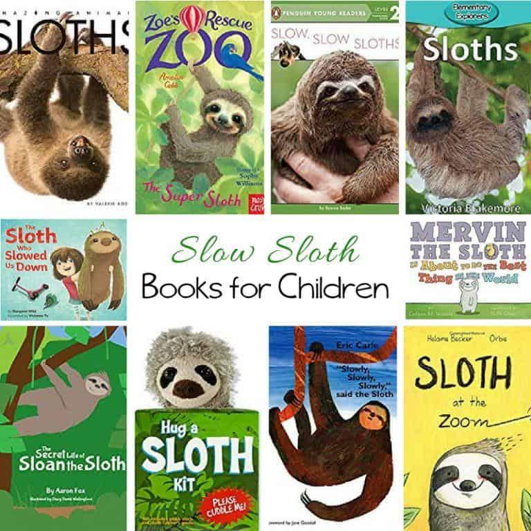 Sloth Books for Children