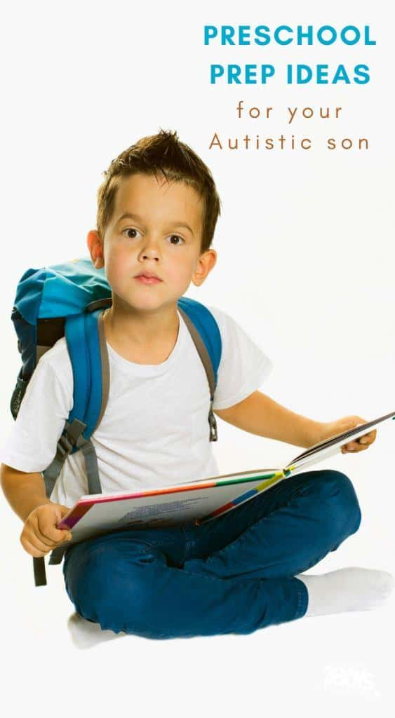 preschool prep for your autistic son