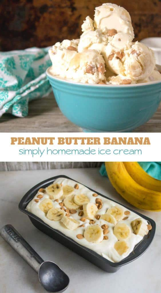 Peanut Butter Banana Ice Cream Recipe with few ingredients