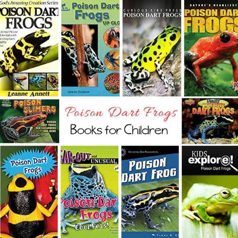 Poison Dart Frogs Books for Kids