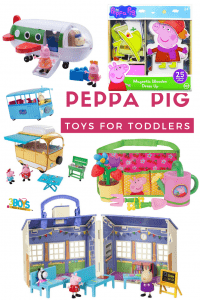 Peppa Pig toys for kids to play with inside