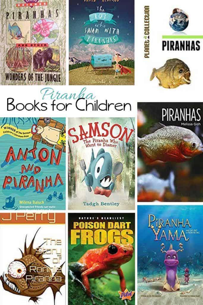 Kids Books about the Piranha