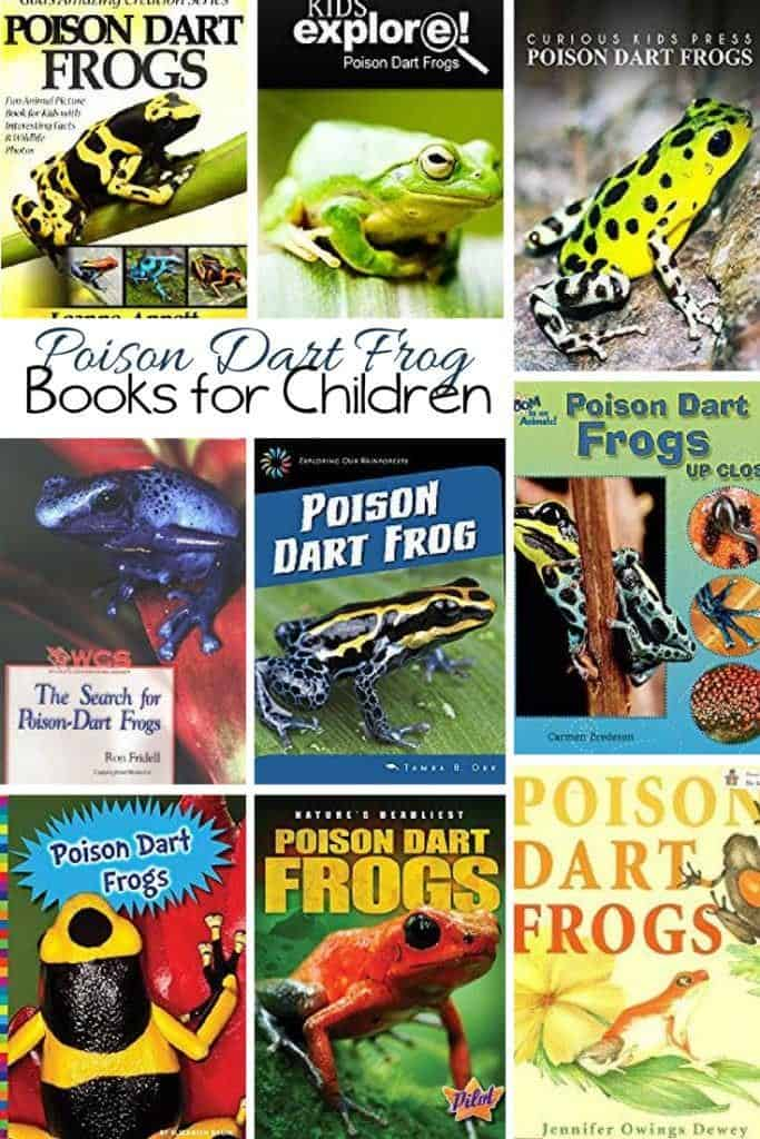 Children's Books about the Poison Dart Frog