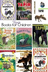 Kids Books about the Tapir
