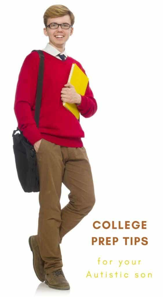 How to Prepare Your Autistic Son for College