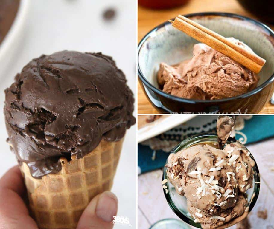 no eggs chocolate ice cream recipes
