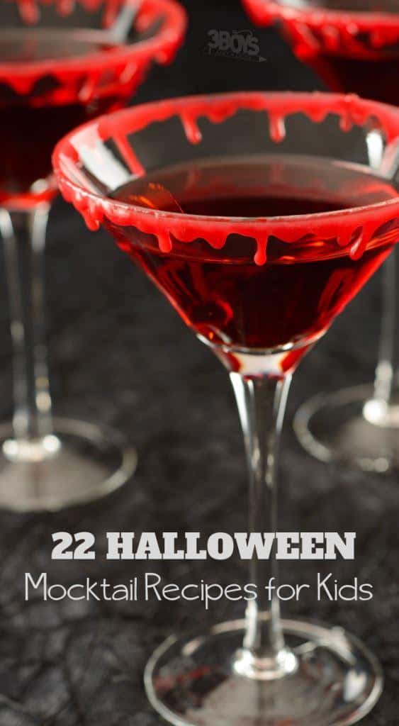 Over 20 Halloween Mocktail Recipes for Kids