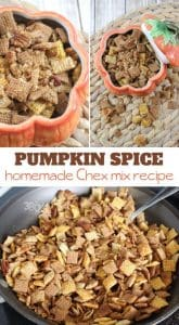 pumpkin spice chex snack mix