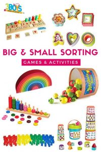 big and small activities and games for preschoolers
