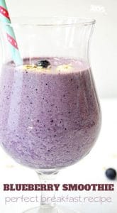 blueberry banana smoothie