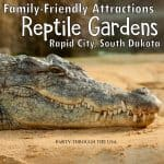 See Reptile Gardens in Rapid City, South Dakota