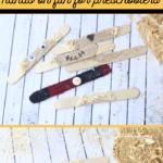 Scarecrow Popsicle Stick Puzzle