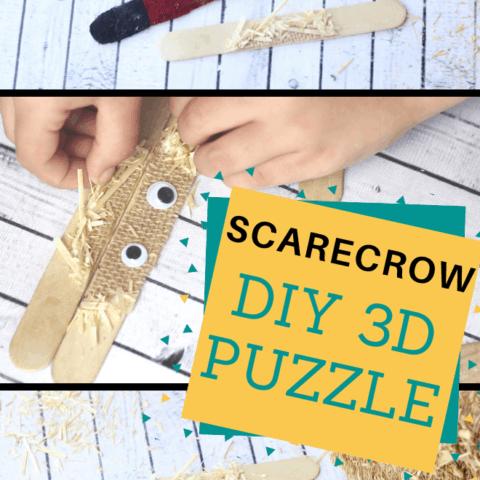 Scarecrow 3D Puzzle