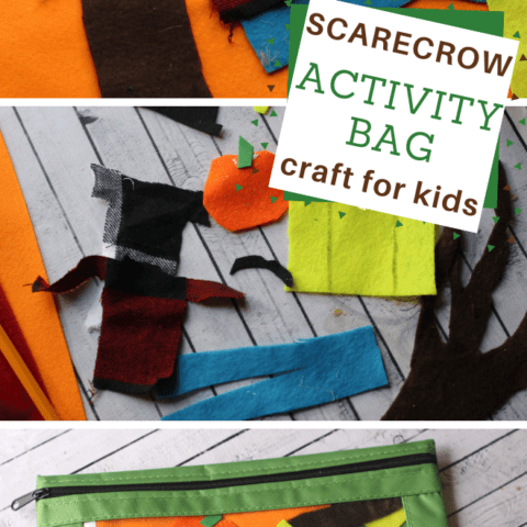 Scarecrow Activity Bag for Kids