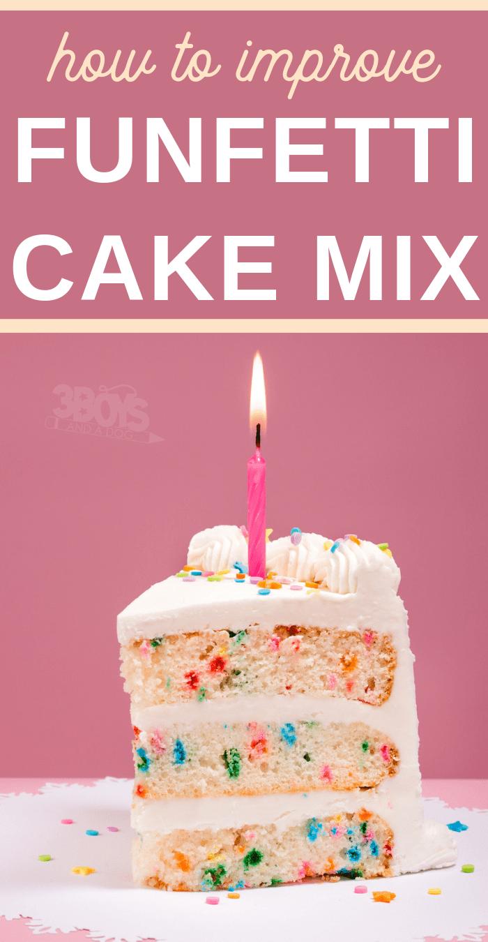 simple easy funfetti cake recipe