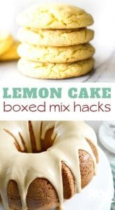Lemon Cake Mix Recipes