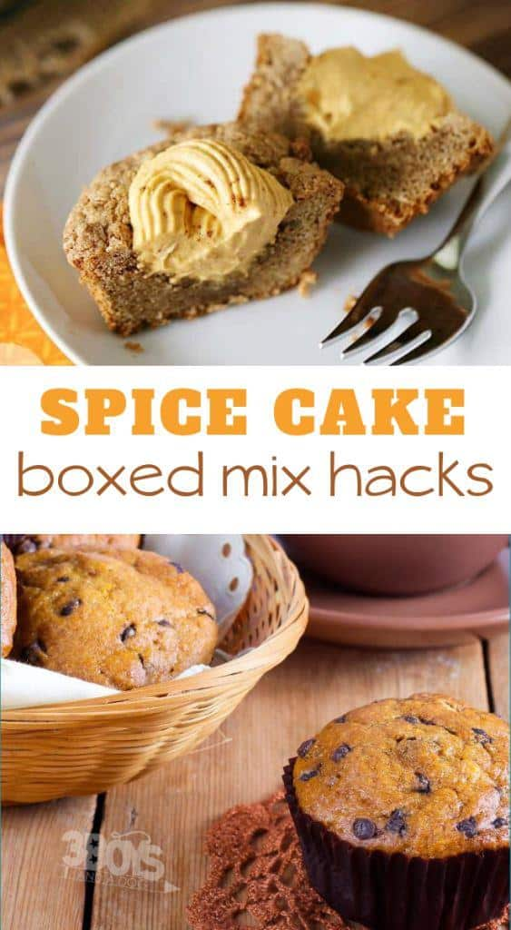 ways to use boxed spice cake mix