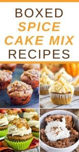 Recipes Using Spice Cake Mix