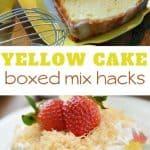 Yellow Cake Mix Recipe Ideas