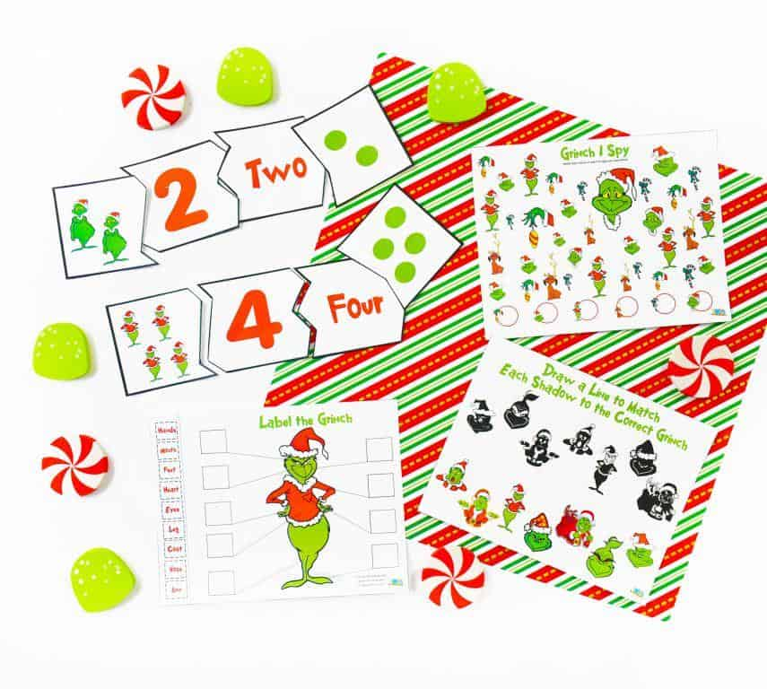 Download your How the Grinch StoleChristmas Printables