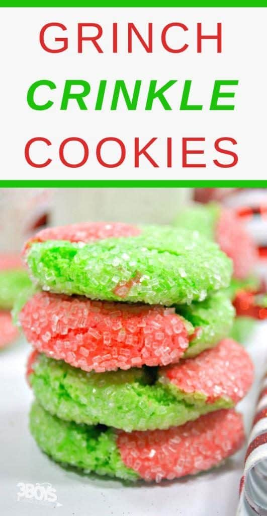 cookies easy grinch recipes