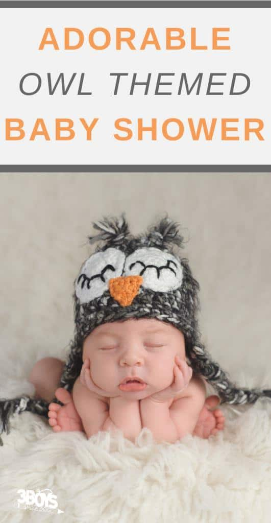 owl themed baby shower ideas