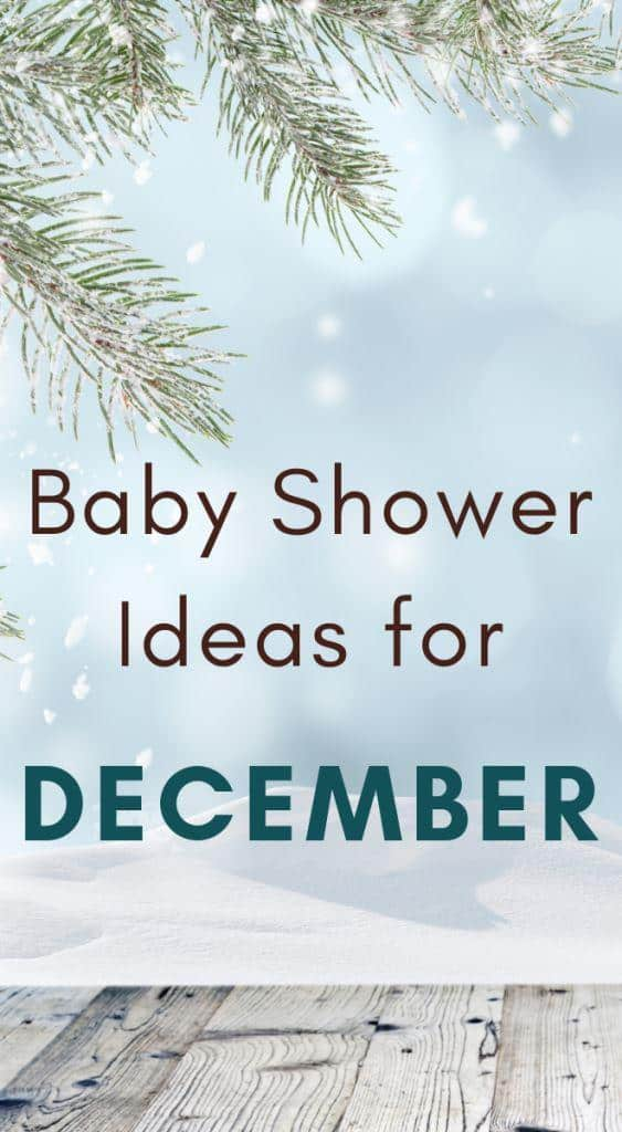 perfect December Baby Shower ideas