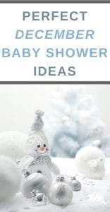 baby shower ideas for december