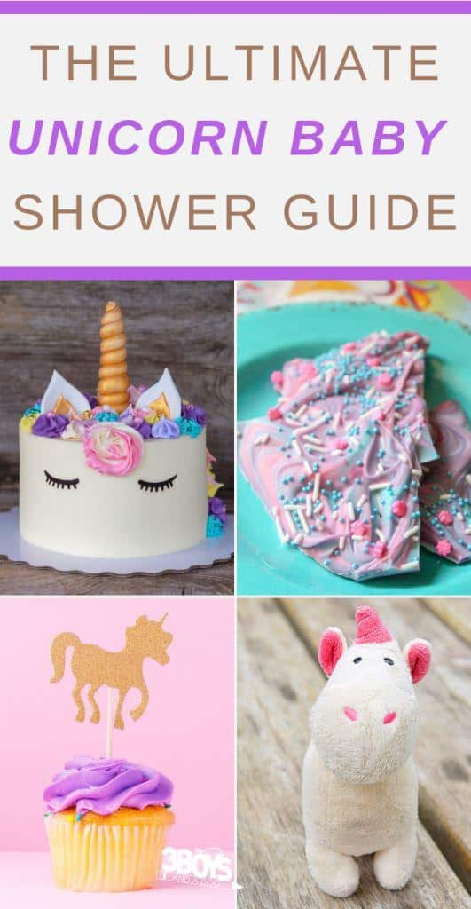 unicorn baby shower theme