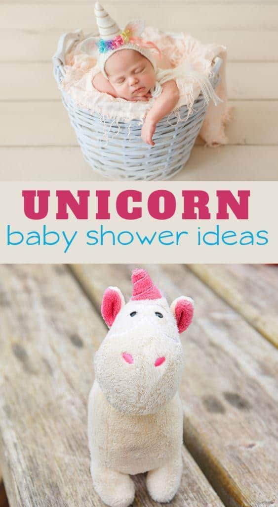 ideas for a unicorn themed baby girl shower