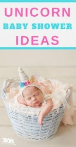 unicorn themed baby shower ideas