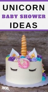 unicorn ideas for baby shower