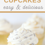 Champagne Cupcakes easy boxed cake mix recipe