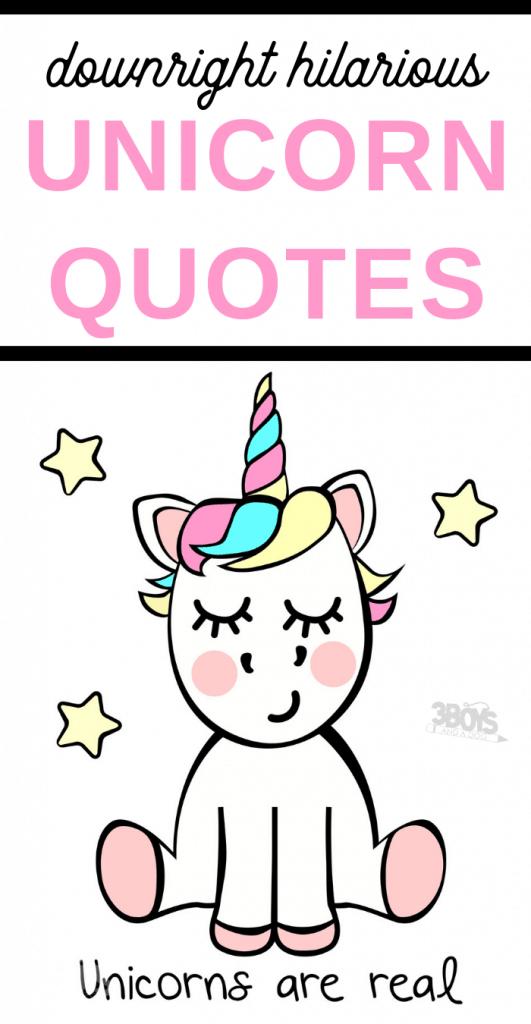 funny Unicorn quotes