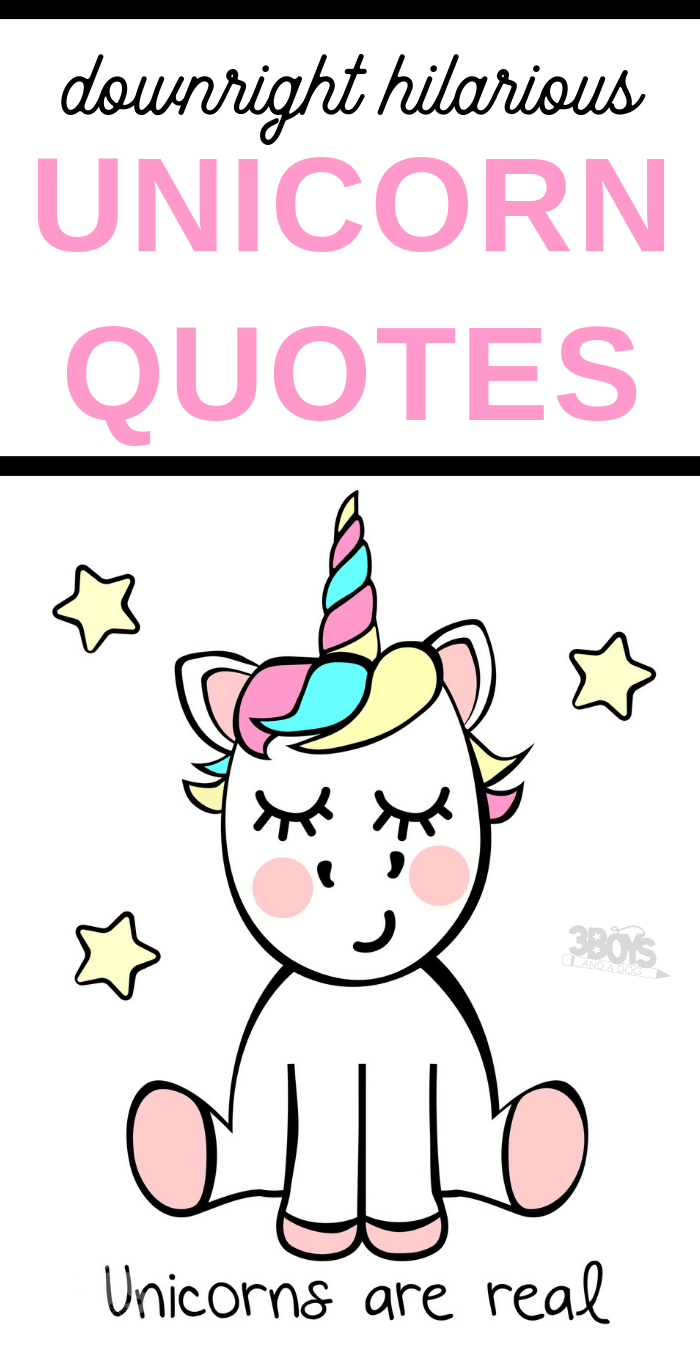 funny Unicorn quotes