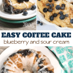 how to make yummy blueberry coffee cake