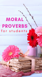 moral quotes for children
