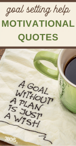 goal setting motivational quotes