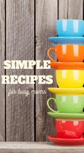 simple weekday meals