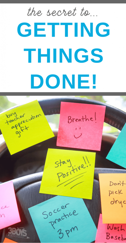 how to defeat to do list overwhelm