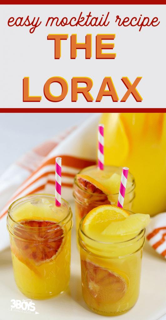 Blood Orange Lemonade Beverage recipe for kids